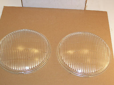 1935 Ford Pass. and 1935-39 Pick-up Headlight-Headlamp Lenses NEW!