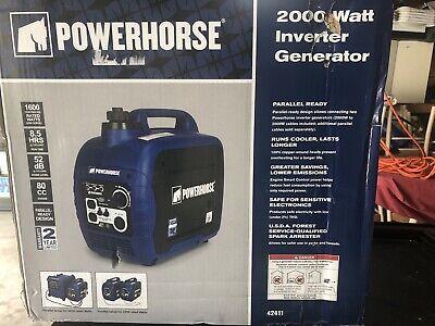 2000 Watt Powerhorse Generator