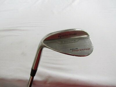 Used Lh Taylormade Tour Preferred 56 12  Sand S Wedge Dynamic Gold Wedge Flex