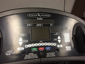 Commercial quality VISION FITNESS Treadmill for sale