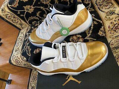 "Nike Air Jordan 11 Retro Low ""Closing Ceremony"" 528895-103 SZ-12 Stock-X DS CERT"