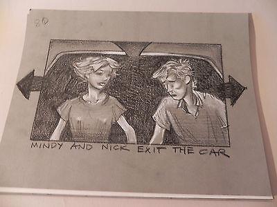 HONEY I BLEW UP THE KID 1992ORIGINAL STORYBOARD ART CARL ALDANA#80