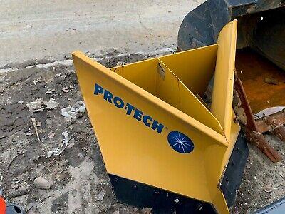 40 Vplow Mini Skid Steer Pro Tech Snow Protech Pusher V Plow