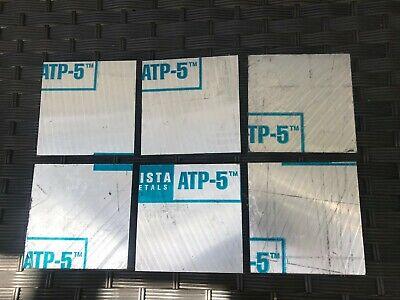Cast Aluminum Jig Plate 4.25 X 4.25 X 1.00 Fixture Tooling Plate Atp-5. Cnc