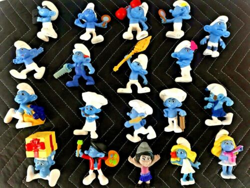 Smurfs Figures Lot of 18