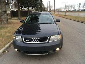 2005 Audi all road awd everything works. Needs nothing