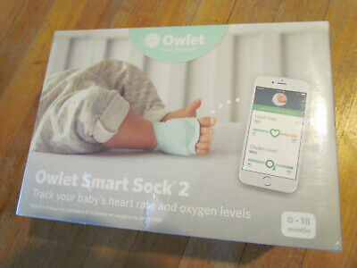 Owlet Smart Sock 2 Baby Monitor Open Box