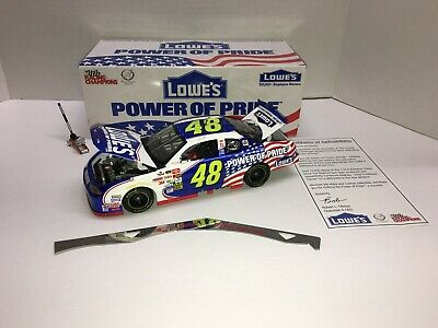 JIMMIE JOHNSON 2002 #48 LOWES EMPLOYEE SPECIAL POWER OF