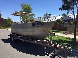 Aluminium Boat 21ft Leopold Geelong City Preview