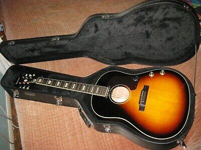 Epiphone EJ160E Acoustic Guitar w/Pickup includes Case