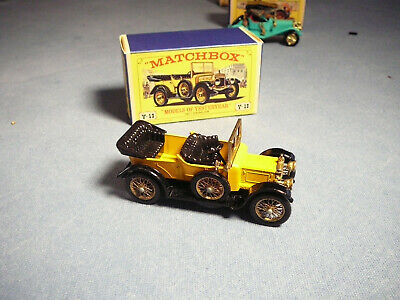 LESNEY MATCHBOX MODELS OF YESTERYEAR 1911 DAIMLER Y-13 BOXED Minty