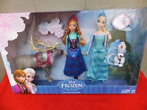 Disney Frozen Friends Collection 2014 Mattel Gift Set NRFB MIB