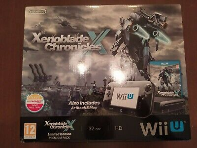 CONSOLE NINTENDO WII U XENOBLADE CHRONICLES LIMITED EDITION PREMIUM PACK NEW