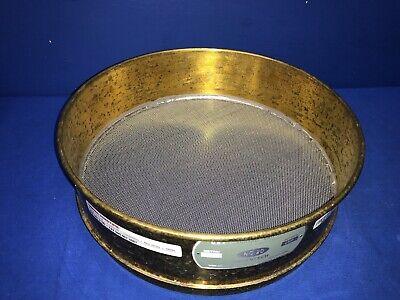Advantech No. 20 Usa Standard Testing Sieve Brass 12dia X 3-14deep