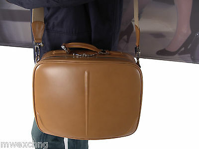 SAMSONITE BLACK LABEL BAYAMO LEATHER LAPTOP ATTACHE BAG