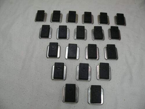 Genuine Motorola 6405738V01 Slides-on/Swivel Speaker/ Microphone Clip, Lot Of 20