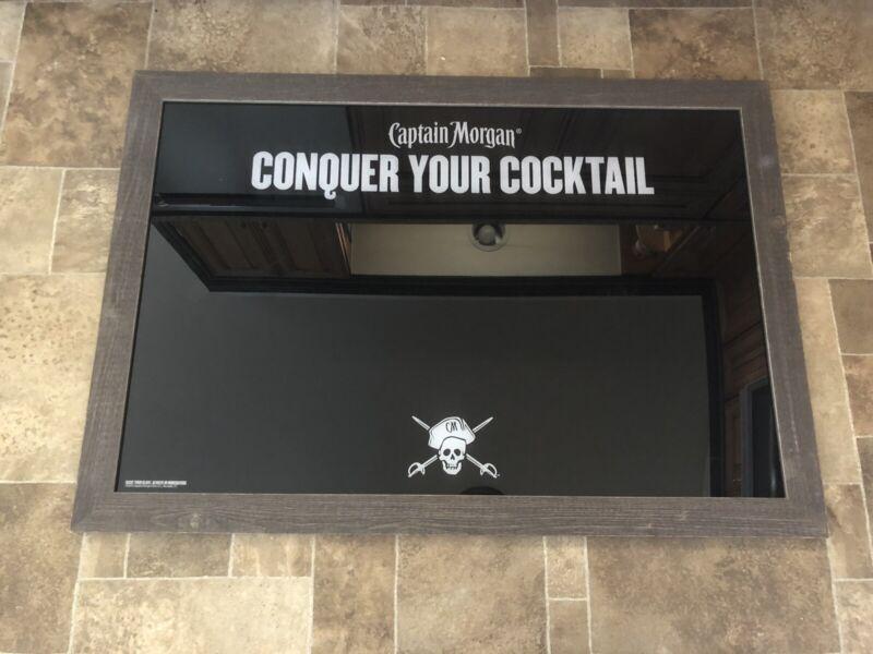 Captain Morgan Spiced Rum Giant Dry Erase Board Sign Game Room Restaurant Bar