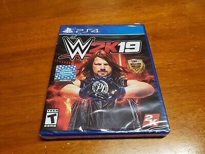 WWE 2K19 PS4 (Sony PlayStation 4, 2019) PS4 BRAND NEW SEALED Fast Shipping