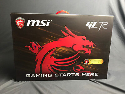 "MSI 17.3"" GL72 7RD i7-7700HQ Nvidia GTX 1050 16GB 128GB SSD Gaming Laptop FullHD"
