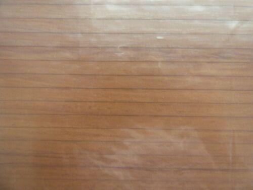 Dollhouse Miniature Wood Floor Peel/Stick 1/4 In Pine