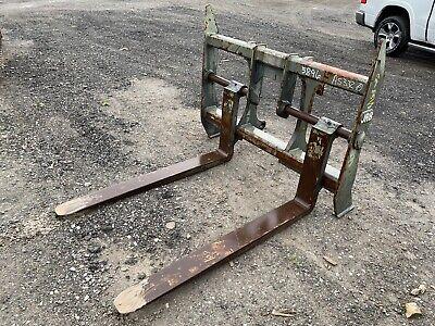 Used Jrb Wheel Loader Forks - Cat It28 Komatsu Pz250pz - 60 Length
