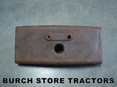 Official John Deere 40 420 430 Tractor Front Bumper Weight M1854t