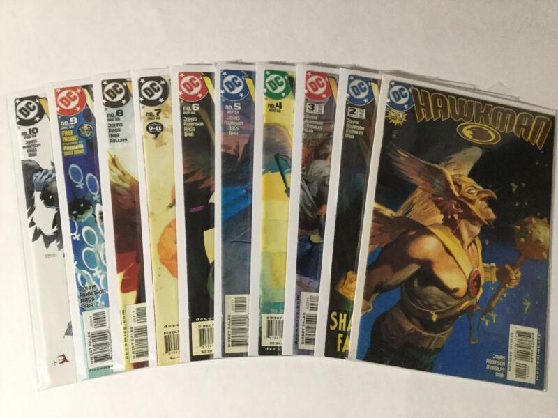 Hawkman 1-48 Hawkworld 1-3 1-26 Annuals 1-3 Lot Nm Near Mint Dc