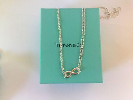 Tiffany & Co. Infiniti Range Silver Necklace