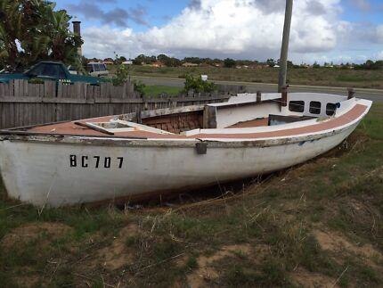 Historical Sailing boat Restore or use as garden feature