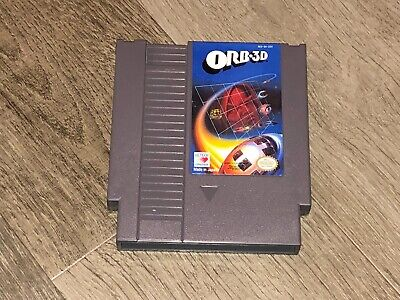 Orb 3D Nintendo Nes Cleaned & Tested Authentic