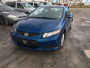 2012 HONDA CIVIC REDUCED TO CLEAR !!!!
