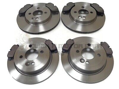 MINI R56 ONE COOPER 1.6 2006-2013 FRONT AND REAR BRAKE DISCS AND PADS SET