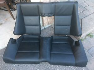 BMW e46 M3 Rear Seats