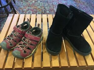 Kids' waterproof sandals & Ugg-style boots