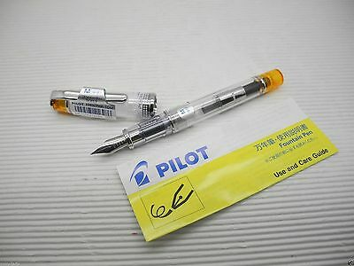 Orange Pilot Prera Fprn-350r M Nib Fountain Pen With C-40 Converterjapan
