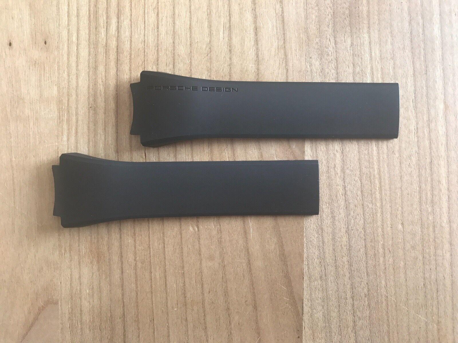 Porsche Design Kautschuk Armband für P6620, Original PD und Nagelneu