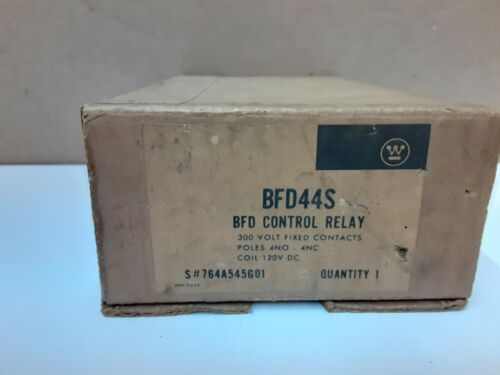 WESTINGHOUSE BFD44S BFD Control Relay