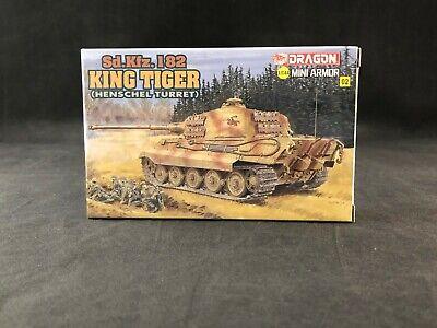 DRAGON 7558 1//72 King Tiger Henschel