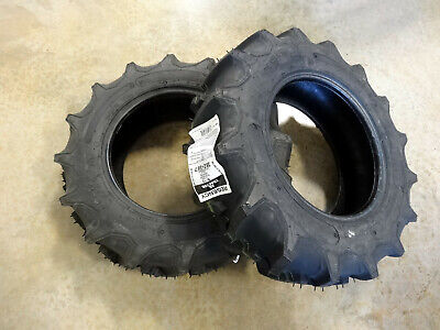 Two 6-12 Regency G1 Garden Tractor Lug Tires 4 Ply Tl Traction Field Road