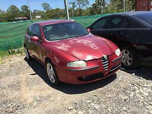 WRECKING ALFA ROMEO 147 FOR PARTS BROKEN REAR GLASS Willawong Brisbane South West Preview