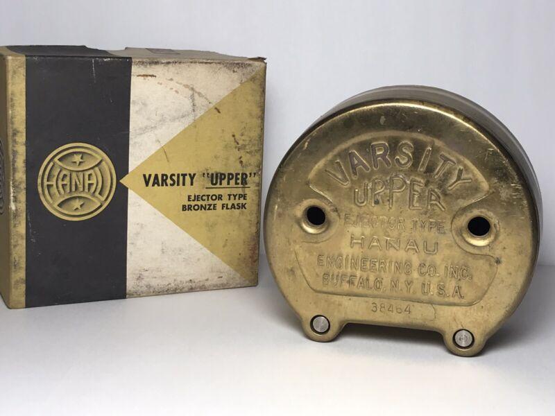 Vintage Hanau Varsity Upper Bronze Denture Flask Ejector Type Dental Lab Press