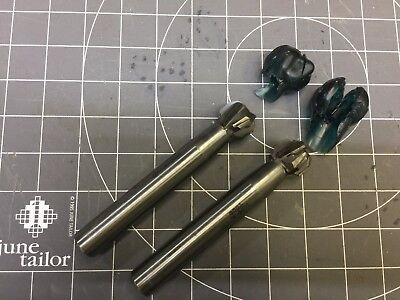 Lot Of 2 1 Carbide Tipped Profiling End Mill Thru Coolant Tsco Usa 9804-bc-003
