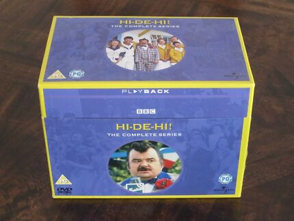 Hi-De-Hi Series 1-9 The Complete Collection DVD Boxset North Curl Curl Manly Area Preview