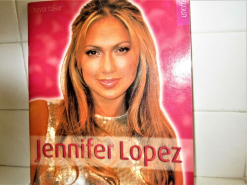 JENNIFER LOPEZ J-LO 2001 ENGLAND  BOOK 46 PAGES MOST COLOR JLO 18 YEARS AGO