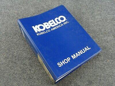 Kobelco Lk850 Ii Front End Wheel Loader Shop Repair Service Manual