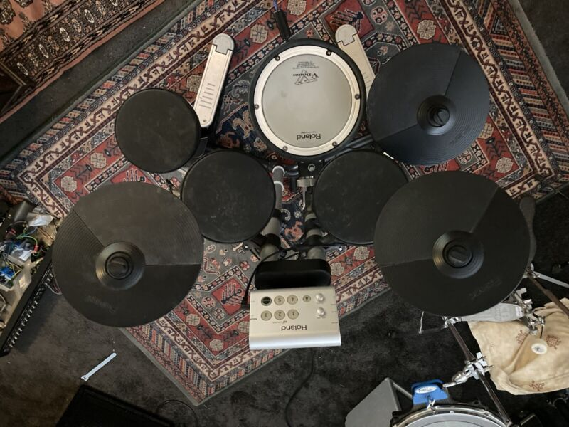 roland hd-1 drum kit