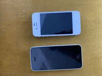 iPhone 5c and iPhone 4