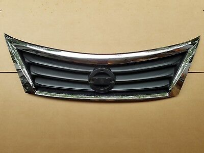 fits 2013-2015 NISSAN ALTIMA Upper Grille on Front Bumper NEW