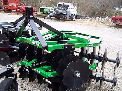 New 16x16 Titan 5 12 Ft. 3 Point Disc Harrow We Can Ship Ask For A Quote