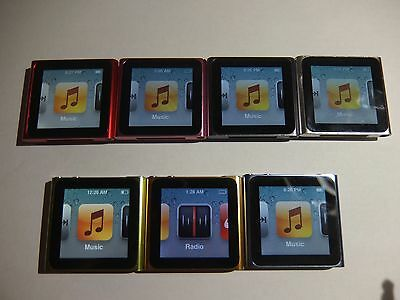 Apple Ipod Nano 6Th Generation 8  16 Gb
